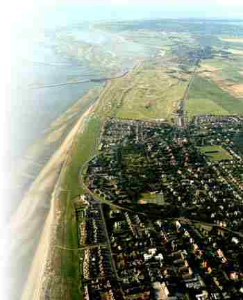 Crosby to Formby point aerial